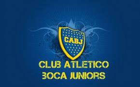 Картинка wallpaper, sport, logo, football, Club Atletico Boca Juniors