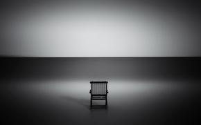 Картинка свет, тень, стул