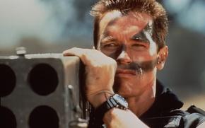 Картинка фильм, обои, терминатор, боевик, Commando, арнольд шварценеггер, Коммандо, arnold schwarzenegger