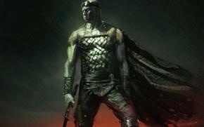 Картинка арт, Вин Дизель, Vin Diesel, Riddick