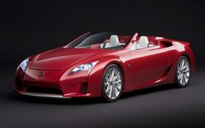 Обои концепт-кар, родстер, Lexus LF-A