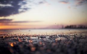 Картинка капли, макро, фото, дождь