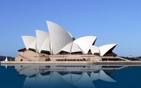 Картинка sky, sea, Australia, Ópera House