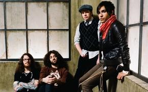 Обои Peter Wentz, музыка, Patrick Stump, Fall out boy, Andrew John Hurley, рок, Joseph Mark Trohman