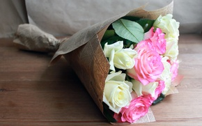 Картинка цветы, розы, розовые розы