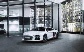 Картинка белый, Audi, ауди, суперкар