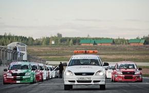 Обои Lada, Лада, Автомобили, Автогонки, Lada Granta CUP