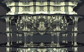 Картинка форма, Fractal, текстура, фон, абстракция