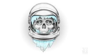 Картинка череп, скафандр, астронавт, scull, мертвец, deadman, space suit, Dead Astronauts