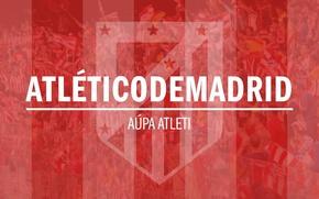 Картинка logo, football, Atletico Madrid
