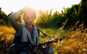 Картинка музыка, гитара, Thomas Houvet