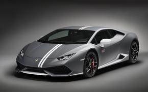 Картинка Lamborghini, ламборгини, фон, LP 610-4, Huracan, хуракан