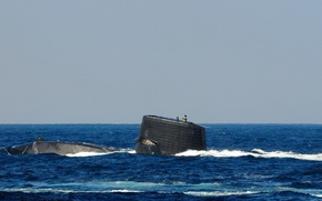 Картинка море, подводная лодка, типа, «Харусио», SS-506