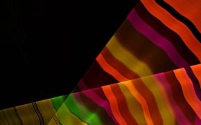 Картинка лучи, линии, полоса, радуга