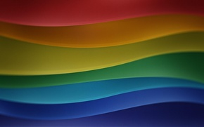 Картинка линии, разные цвета, переходы
