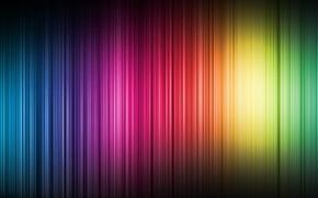 Обои полосы, цвет, спектр, вертикаль
