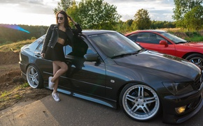 Картинка car, lexus, sony, night, model, moscow, low, Alena, smotra, drive2, a99