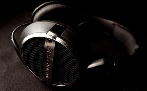 Обои музыка, music, наушники, headphones, sennheiser, HD448