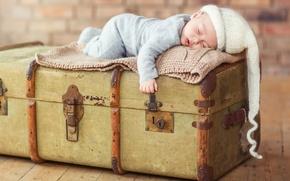 Картинка сон, сундук, ребёнок