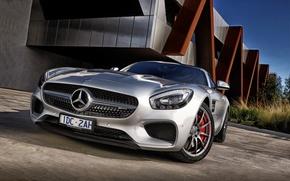 Картинка Mercedes-Benz, мерседес, AMG, GT S, C190