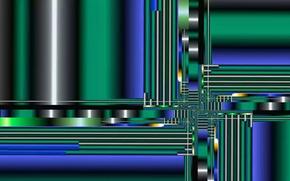Картинка линии, абстракция, цвет
