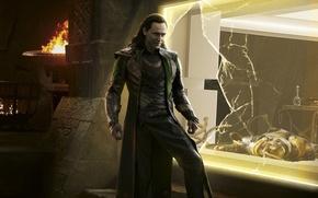 Картинка Локи, Loki, Tom Hiddleston, Том Хиддлстон, Тор 2: Царство тьмы, Thor: The Dark World