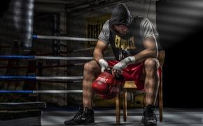 Картинка спорт, ринг, Fight Club, тренировка