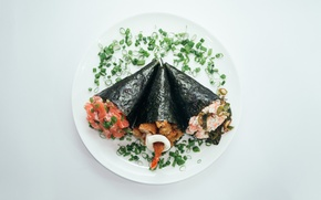 Картинка sushi, shrimp, salmon
