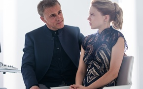 Картинка кадр, 007: СПЕКТР, SPECTRE, Кристоф Вальц, Christoph Waltz, Lea Seydoux, Леа Сейду, Madeleine Swann, Blofeld