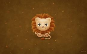 Обои Lion, Mac, Лев