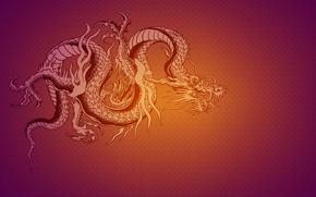 Картинка фантастика, краски, дракон, рисунок, colors, fantasy, dragon, picture, 2133x1200