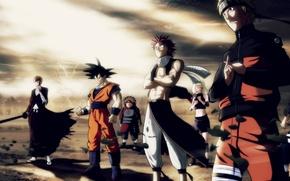 Картинка Slayer, Heroes, Dragon, Hero, Bleach, Naruto, Anime, Men, Ichigo, Ninja, Fairy Tail, Natsu, Dragon Ball, …