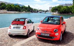 Картинка Fiat, 2015, 500C, фиат
