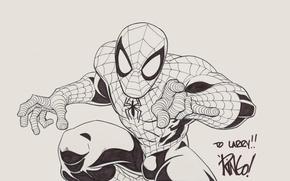 Картинка Рисунок, Фантастика, Marvel, Spider Man