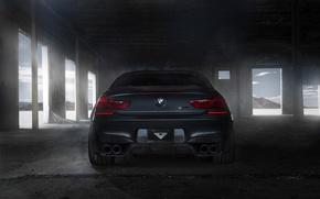 Картинка черный, тюнинг, бмв, BMW, сзади, black, Coupe, tuning, F13