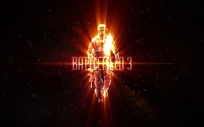 Картинка Battlefield 3, сержант, Поле битвы, Генри Блэкберн, Блэк