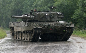 Картинка Танк, Leopard 2A4, Leopard 2, Леопард 2, Бронетехника