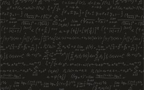 Картинка черный, доска, формулы