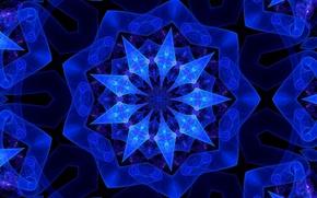 Обои узор, линии, симметрия, фот, цвет