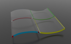 Картинка стекло, windows, glass, logo