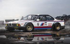 Картинка BMW, Car, Race, Front, CSi, M635, Hugo Silva