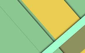 Картинка линии, желтый, зеленый, геометрия, салатовый, color, material, desing