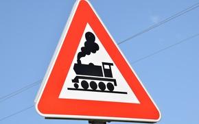 Картинка поезд, train, Sign