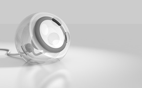 Картинка minimalism, design, render, designed, custom speaker, 4D cinema, clear style, speaker