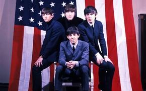 Обои Битлы, The Beatles, музыканты, рок, легенда, Beatles, музыка, Битлз, талант, Ринго Стар, Джордж Харрисон, Джон ...
