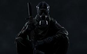 Картинка оружие, противогаз, Scout, Tom Clancy's Ghost Recon