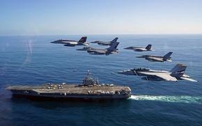 Картинка оружие, самолёты, USS George Washington