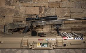 Картинка оружие, фон, оптика, снайперская винтовка