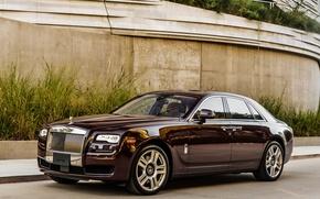 Обои гост, Rolls-Royce, Ghost, роллс-ройс