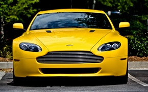 Картинка Aston Martin, Vantage, Front, View
